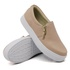 Slip On Calce Fácil Zíper Rosê DKShoes