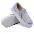 Slip On Calce Fácil Zíper Tie Dye DKShoes