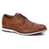 Sapato Brogue Premium em Couro Confort Tchwm Shoes Castor