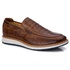 Sapato Masculino Loafer Premium em Couro Legitimo Castor Croco