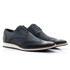 Sapato Casual Masculino Oxford Solado em Borracha Luxo Marinho