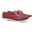 Deckshoes KANOÊ Vintage Vermelho - Docksides Masculino Samello