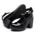 Sapato Boneca Modelo 1 Preto Verniz