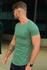 T-shirt Long Basic Green