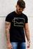 T-shirt Bath Black