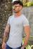T-shirt Long Basic grey