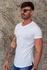 T-shirt Long Basic Off White