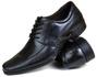 Sapato Social Gallipoli em Couro Preto3072rp