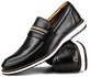 Brogue Premium Couro Comfort Preto Andora 8000