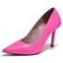 Scarpin Feminino Salto Alto Via Marte 2113301 magenta pink