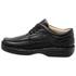 Sapato Masculino Linha Conforto Couro Preto 16000