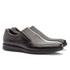 Sapato Social Masculino Gel Light Em Couro Ref-3202 Preto
