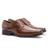 Sapato Social Masculino Kire Gel Em Couro Ref-1175 Whisky
