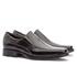 Sapato Social Masculino Kire Gel Em Couro Ref-1176 Preto