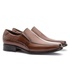 Sapato Social Masculino Kire Gel Em Couro Ref-1176 Whisky