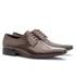 Sapato Social Masculino Leblon Em Couro Ref-655 Café
