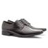 Sapato Social Masculino Leblon Em Couro Ref-693 Preto