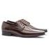 Sapato Social Masculino Slim Em Couro Ref-864 Café