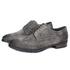 Sapato Masculino Derby Mônaco Em Couro Suede Carbono Savelli