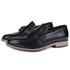 Sapato Masculino Loafer Vulcano em Couro Preto Savelli