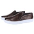 Slip On Masculino Casual Florence em Couro Floater Café Savelli