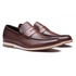 SAPATO MASCULINO LOAFER EM COURO CHOCOLATE