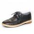 Sapato Social Feminino Inglês Casual Top Franca Shoes Preto
