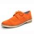 Sapato Social Feminino Inglês Casual Top Franca Shoes Laranja