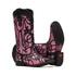 Bota Feminina - Fóssil Preto | Glitter Pink - Freedom Flex - Vimar Boots - 13089-K-VR