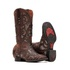 Bota Feminina - Dallas Castor | Craquelé Bronze - VTS - Vimar Boots - 13147-D-VR