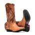 Bota Feminina - Fóssil Caseinado Caramelo | Caramelo | Café - Freedom Flex - Vimar Boots - 13149-B-VR