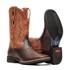 Bota Masculina - Texas Café   Fóssil Caseinado Caramelo - Freedom Flex - Vimar Boots - 81292-C-VR