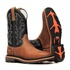 Bota Work Masculina - Dallas Bambu   Fóssil Preto - Solado Extreme - Vimar Boots - 81327-B-VR