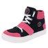 Bota Sneaker Rosa com Preto em Couro Legítimo - Selten
