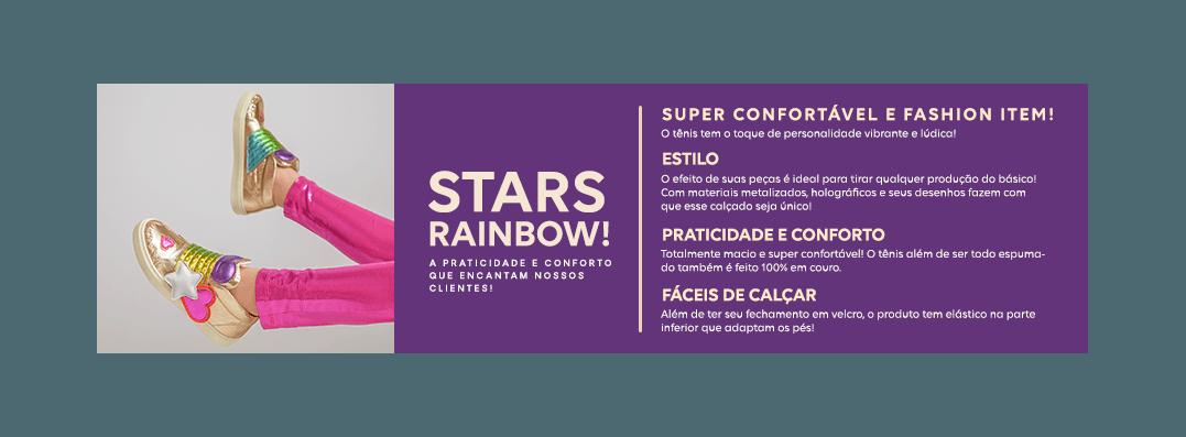 Tênis Stars Rainbow