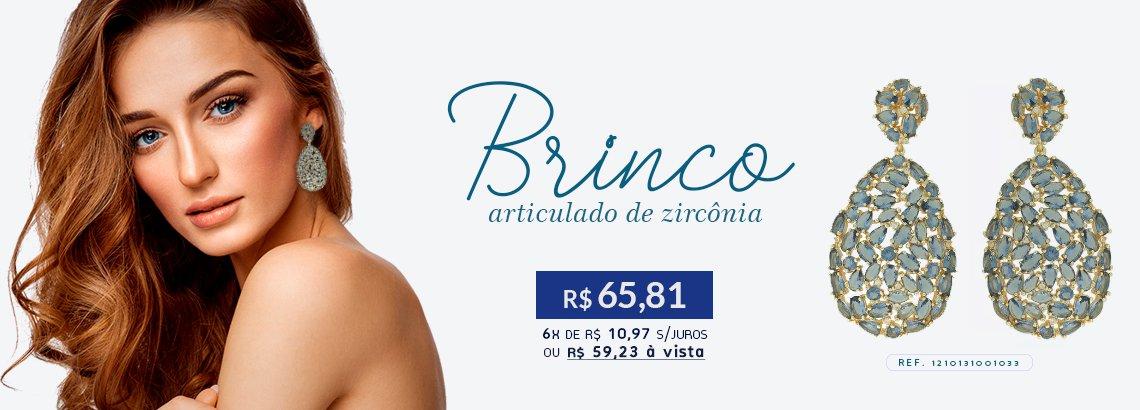 Brinco Zircônia Lesprit LB14951WLAMORRS Rosé Morganita E Ametista