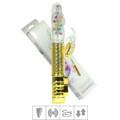 Vibrador Vai e Vem Female Com Estimulador (6045) - Dourado