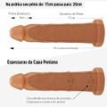 Capa Peniana Com Cinta 20cm (AC029C- ST257) - Bege
