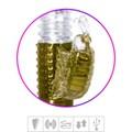 Vibrador Rotativo Sobe Desce Recarregável VP ( RT020 - ST385 ) - Dourado