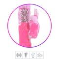 Vibrador Rotativo Recarregável (RT019-14565) - Rosa