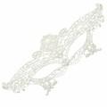 Máscara em Tecido Anastasia Lace 50 Tons Mais Escuros (SA001 - SA002) - Branco