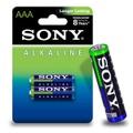 Pilha Palito AAA Alcalina 2un Sony (17010) - Padrão