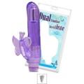 Vibrador Com Estimulador Butterfly SI (5109) - Roxo