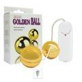 Bolinha Ben-Wa Com Vibro Golden Ball (5242) - Dourado