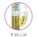 Vibrador Vai e Vem Female Com Estimulador Recarregável SI (6045) - Dourado