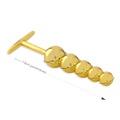 Plug Ball em Metal - (HA124) - Dourado