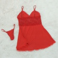 Camisola Jamile Plus Size (LK572P) - Vermelho
