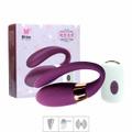 *Vibrador Duplo 7 Vibrações Recarregável ME (MCV1051) - Bordô