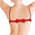 *Soutien Recorte Com Detalhe Atras Em Laço ( OB348 ) - Vermelho
