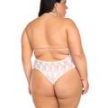 *Body Lacinho Plus Size (PS2012) - Branco